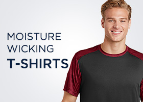Moisture-Wicking T-shirts