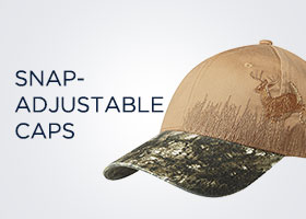 Snap-Adjustable caps