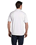 Hanes 054 Men 5.2 Oz 50/50 Ecosmart Jersey Knit Polo
