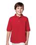 Tri-Mountain 090 Boys Element Pique Short Sleeve Golf Shirt