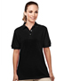 Tri-Mountain 092 Women Accent Easy Care Pique Golf Shirt