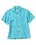 Edwards 1030 Men Jaquard Batiste Camp Shirt