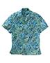 Edwards 1032 Men Tropical Leaf Camp Shirt
