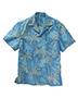 Edwards 1034 Men Tropical Palm Tree Camp Collar Shirt