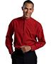Edwards 1392 Men Batiste Banded Collar Shirt