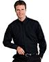 Edwards 1396 Men Banded Collar Long-Sleeve Shirt