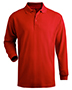 Edwards 1515 Men Long-Sleeve Pique Polo Shirt
