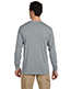Jerzees 21ML Men 5.3 Oz. 100% Polyester Sport With Moisture Wicking Long-Sleeve T-Shirt