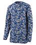 Augusta 2789 Boys Digi Camo Wicking Long Sleeve T-Shirt