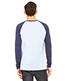 Bella + Canvas 3000C Men Jersey Long-Sleeve Baseball T-Shirt