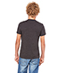 Bella + Canvas 3005Y Boys Jersey Short-Sleeve V-Neck T-Shirt