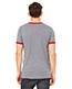 Bella + Canvas 3055C Men Jersey Short-Sleeve Ringer T-Shirt
