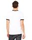 Bella + Canvas 3055C Men Jersey Short-Sleeve Ringer T-Shirt