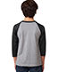 Next Level 3352 Boys Cvc 3/4-Sleeve Raglan Tee