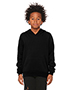 Bella + Canvas 3719Y Youth 7 oz Sponge Fleece Pullover Hooded Sweatshirt