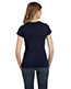 Anvil 379 Women Ringspun Fitted T-Shirt