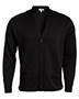Edwards 383 Women V-Neck Button Heavyweight Acrylic Sweater