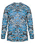 Badger 4184 Men Long-Sleeve Sublimated Tee