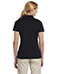 Jerzees 441W Women 4.1 oz., 100% Polyester Micro Pointelle Mesh SPORT Moisture-Wicking Polo