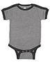 Rabbit Skins 4432 Infant 4.5 oz Soccer Ringer Bodysuit