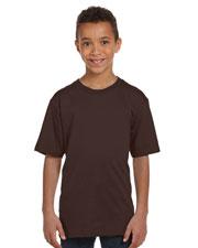 Anvil 490B Boys 100% Certified Organic Ringspun Cotton T-Shirt