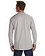 Hanes 498L Men 4.5 Oz. 100% Ringspun Cotton Nano-T Long-Sleeve T-Shirt