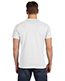 Hanes 498P Men 4.5 Oz. 100% Ringspun Cotton Nano-T T-Shirt With Pocket