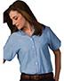 Edwards 5027 Women Button-Down Collar Oxford Shirt