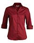Edwards 5045 Women V-Neck 42433 Sleeve Soft Collar Blouse