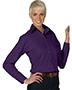 Edwards 5295 Women Poplin Long-Sleeve Blouse