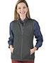 Charles River Apparel 5722 Women Pacific Heathered Fleece Vest