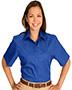 Edwards 5740 Women Cotton Plus Twill Short-Sleeve Shirt