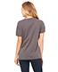 Bella + Canvas 6405 Women Missys Relaxed Jersey Short-Sleeve V-Neck T-Shirt