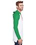 LAT 6917 Men 4.5 oz Hooded Raglan Long-Sleeve T-Shirt