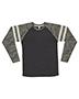 LAT 6934 Men 4.5 oz Gameday Mash Up Long-Sleeve T-Shirt