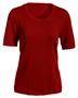 Edwards 7055 Women Short-Sleeve Scoop Neck Sweater