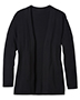 Edwards 7056 Women Long-Sleeve Hemmed Cuff Open Front Cardigan Sweater