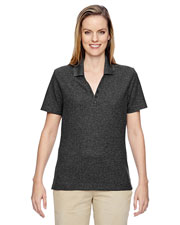 North End 75121 Women Excursion Nomad Performance Waffle Polo