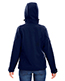 North End 78166 Women Prospect Two-Layer Fleece Bonded Soft Shell Hooded Jacket