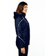 North End 78196 Women Angle 3-In-1 Jacket With Bonded Fleece Liner