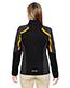 North End 78201 Women Strike Colorblock Fleece Jacket