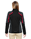 North End 78201 Women Strike Colorblock Fleece Jacket