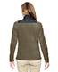 North End 78215 Women Excursion Trail Fabric-Block Fleece Jacket