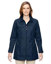 North End 78218 Women Excursion Ambassador Lightweight Jacket With Fold Down Collar