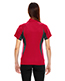 North End 78657 Women Serac Utk Cool.Logik  Performance Zippered Polo