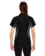 North End 78657 Women Serac Utk Cool.Logik  Performance Zippered Polo