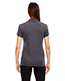North End 78659 Women Maze Performance Stretch Embossed Print Polo