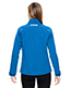 North End 78693 Women Excursion Soft Shell Jacket With Laser Stitch Accents