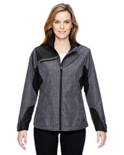 North End 78805 Women Interactive Sprint Printed Lightweight Jacket