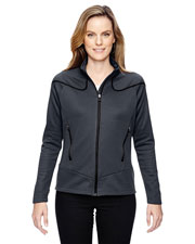 North End 78806 Women Interactive Cadence Two-Tone Brush Back Jacket